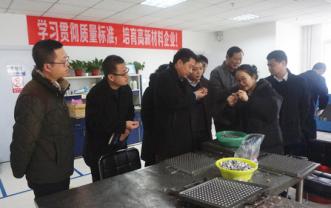 区委组织部副部长车万里等领导一行到京滨工业园走访慰问企业